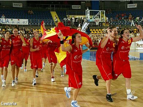 Winner of the European Championship for U16 Girls 2004: Spain
